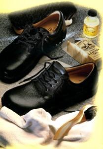 LIMPIEZA Y MANTENIMIENTO de los zapatos